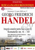 Georg Friedrich Handel la Palatul Brancovenesc Mogosoaia