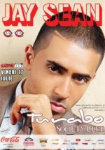 Concert Jay Sean in Turabo Society Club Bucuresti