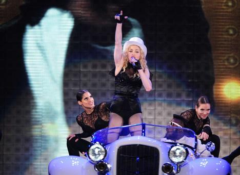 Cum a fost la concertul Madonna