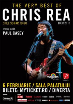 Concert Chris Rea la Sala Palatului din Bucuresti