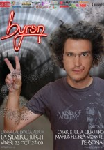 Lansare album byron in The Silver Church din Bucuresti