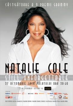 Concert Natalie Cole la Sala Palatului din Bucuresti