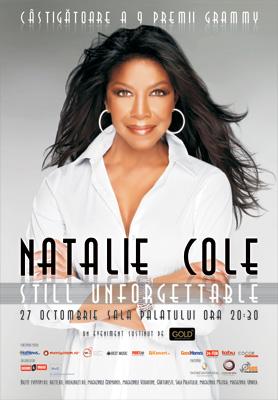 Concert Natalie Cole in Bucuresti