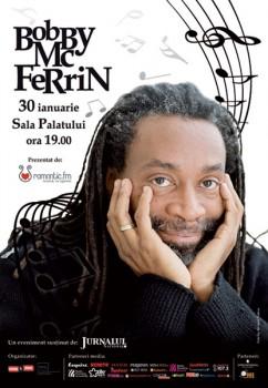Concert Bobby McFerrin la Sala Palatului din Bucuresti