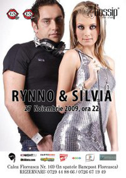 Concert Dj Rynno & Sylvia in Club Gossip din Bucuresti