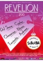 Revelion 2010 in Club Suburbia din Bucuresti