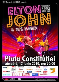 Elton John layout 27.04. 250x350   Concert Elton John@Bucureşti