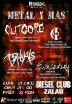 Metal X Mas in Club Diesel din Zalau