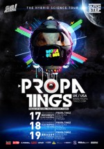 Propa Tingz in Club The King din Cluj-Napoca si Club Suburban din Brasov
