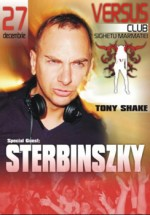DJ Sterbynszky in Club Versus din Sighetul Marmatiei