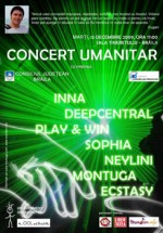 Concert Umanitar la Sala Tineretului din Braila