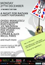A Night for Razvan in Club Mojo-Brit Room din Bucuresti