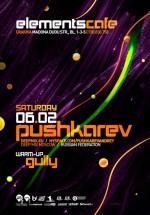 Pushkarev in Elements Cafe din Craiova