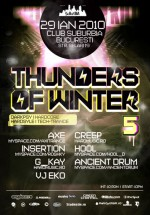 Thunders of Winter in Club Suburbia din Bucuresti