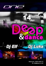 Deep & Dance Party in One Club & Lounge din Constanta