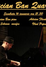 Concert Lucian Ban Quartet in Art Jazz Club din Bucuresti