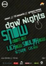 DJ Snow in Groove Venue din Iasi