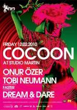 Cocoon Night în Studio Martin din Bucureşti