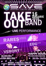 Concert Take Out Band in Save Club din Roman