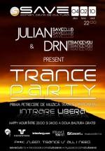 Trance Party în Save Club din Roman
