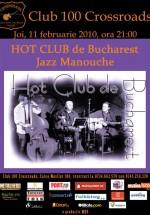 Concert Hot Club De Bucharest în 100 Crossroads din Bucureşti