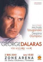 Concert George Dalaras la Zone Arena din Bucureşti