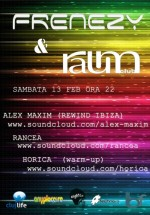 Alex Maxim & Rancea în Club Raum din Cluj-Napoca