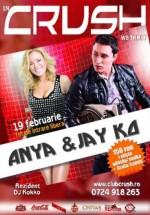 Concert Anya & Jay Ko în Club Crush din Constanţa