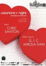 Valentine's Night în Bubbles Club din Bucureşti