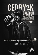 Concert Cedry2k în Dublin Pub din Iaşi