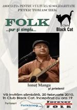 Concert Ionuţ Mangu în Club Black Cat din Siret