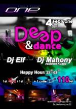 Deep & Dance în One Club & Lounge din Constanţa
