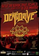 Turneu Dreathdrive & Proof în România
