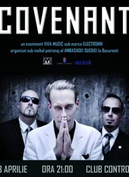 Concert Covenant în Club Control din Bucureşti