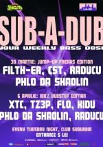 Sub a dub în Club Suburbia din Bucureşti