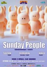Concert Sunday People în Club Suburbia din Bucureşti