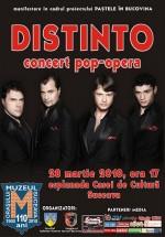 Concert Distinto la Casa de Cultură a Sindicatelor din Suceava