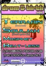 Souljah, Terrarin, Mospeth & Beat-Less în Kaze Pub din Iaşi
