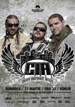 Concert C.I.A. în Globlin Club din Bucureşti