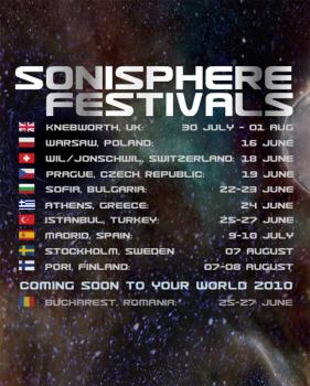 Festivalul Sonisphere 2010 la Bucureşti