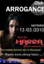 Dj Harra la Club Arrongance din Bals