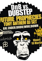D'n'B vs Dubstep in Club Midi din Cluj-Napoca