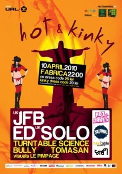 Hot & Kinky în Club Fabrica din Bucureşti