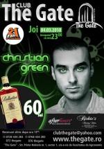 Christian Green în Club The Gate din Bucureşti