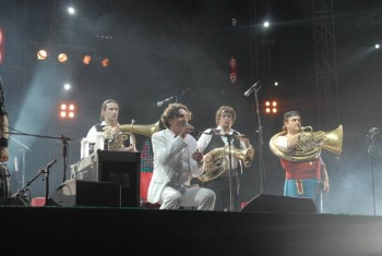 Goran Bregovic Wedding and Funeral Orchestra la Zone Arena din Bucureşti