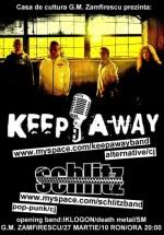 Concert Keep Away la Casa de Cultură din Satu Mare