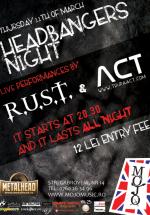 Concert ACT & R.U.S.T. în Club Mojo-Brit Room din Bucureşti