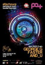 George G, Faster & And_U în Club Pat din Bucureşti