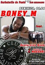Concert Bonny M Feat. Quaternion Band în Club Renaissance din Arad