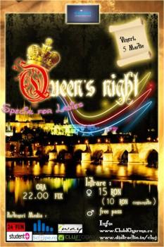 Queen's Night în Club Kharma din Cluj-Napoca